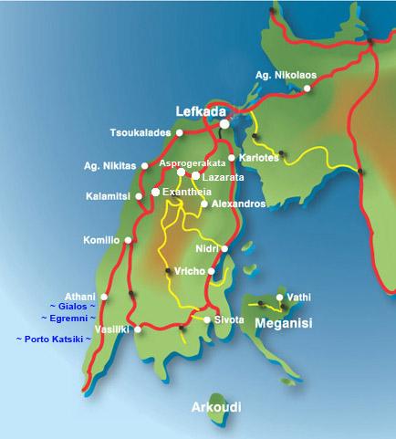 Insel Lefkada
